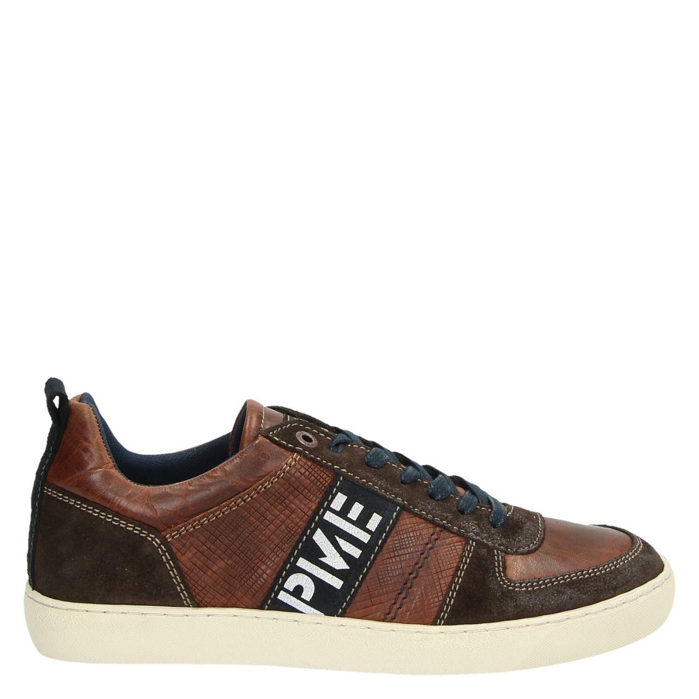 Heren Lage Sneakers Cognac Legend Huston Pme 34SLqAc5Rj
