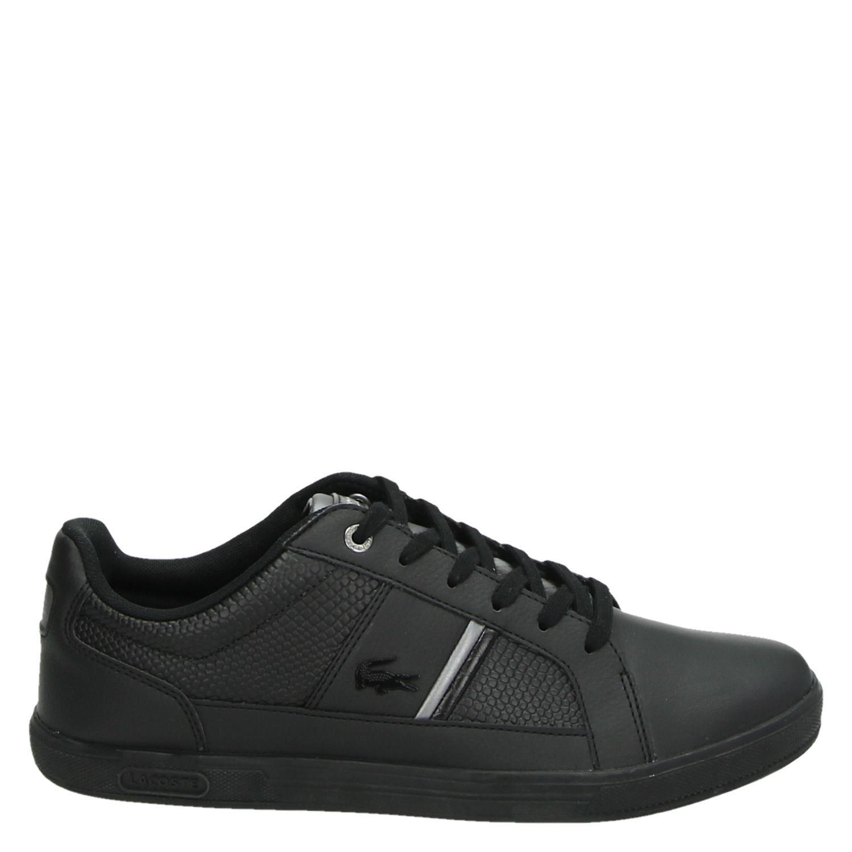 857f104fbd0 Lacoste Europa 4171 heren lage sneakers zwart