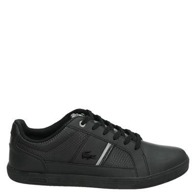 Lacoste heren sneakers zwart
