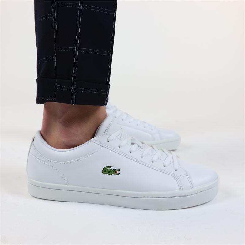 Lacoste Straightset - Lage sneakers - Wit