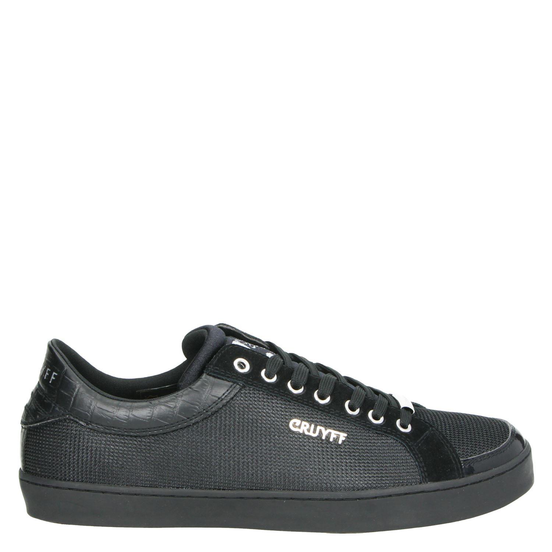 Cruyff Jordi 2019 Heren Lage Sneakers Zwart