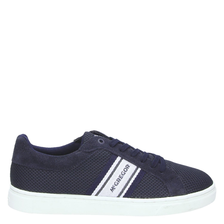 McGregor lage sneakers blauw