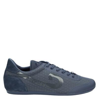 Cruyff heren lage sneakers blauw