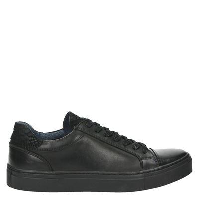 Nelson heren sneakers zwart