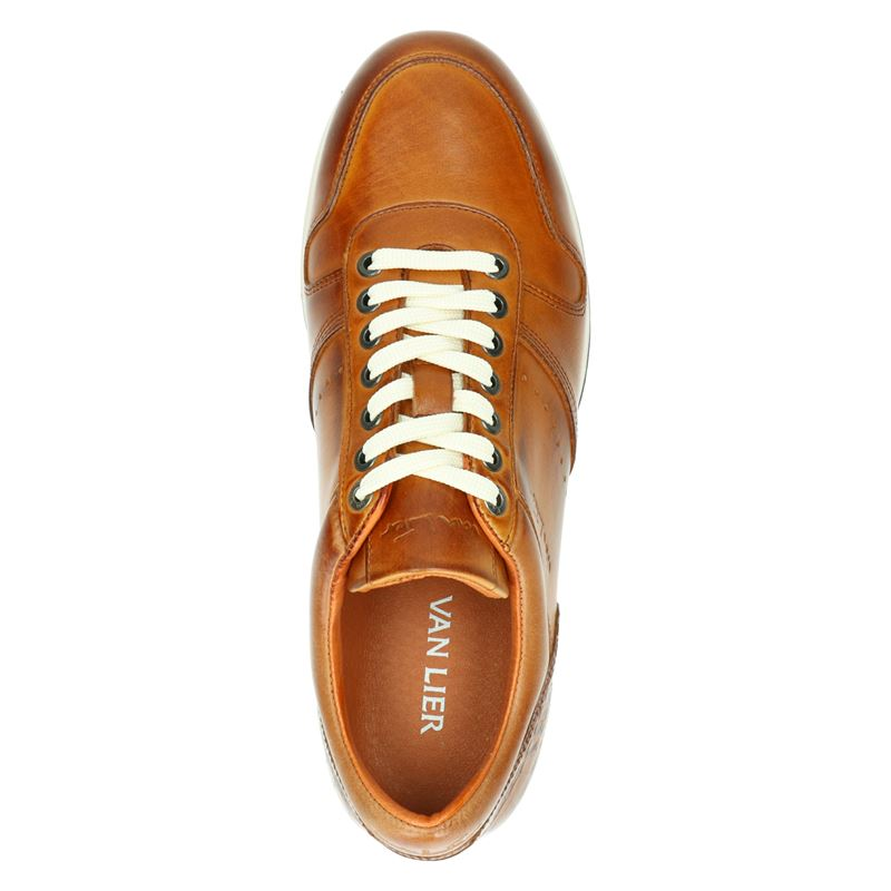 Van Lier - Lage sneakers - Cognac