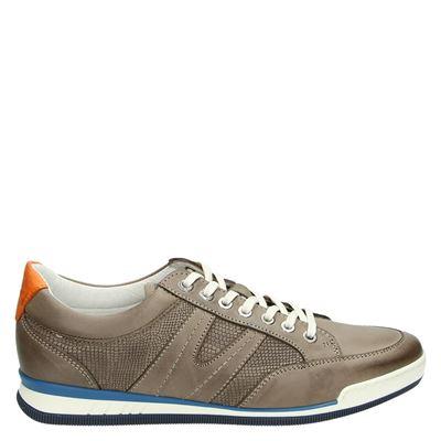 Van Lier heren sneakers taupe