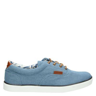 Hobb's heren sneakers blauw