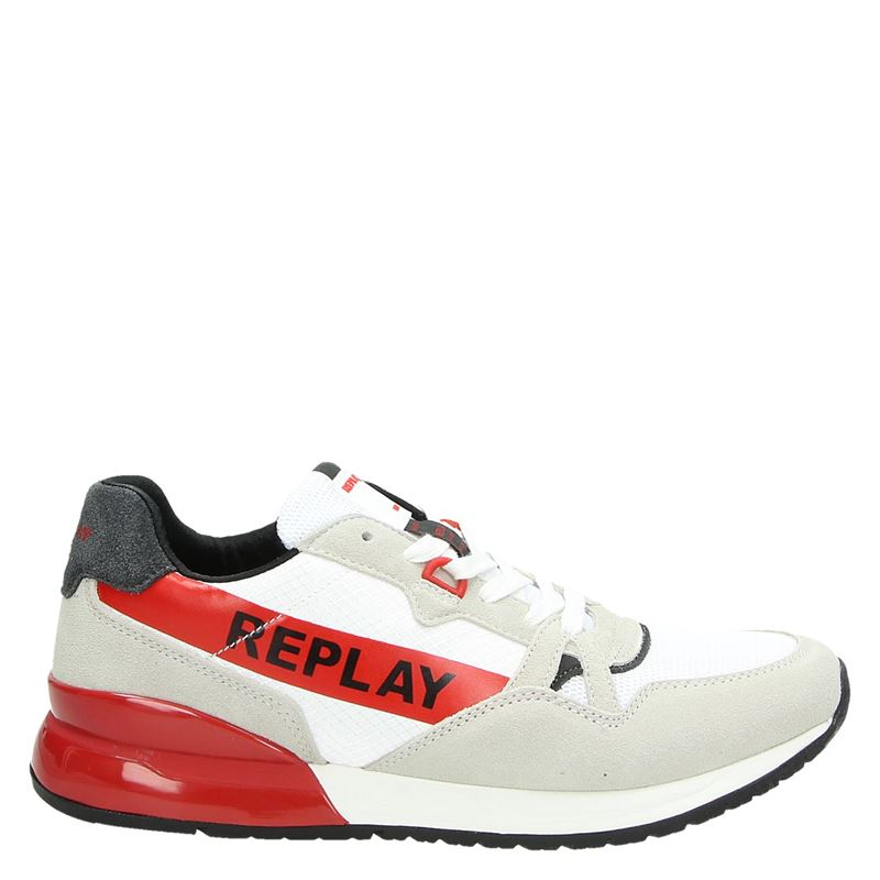 Replay - Lage sneakers - Wit