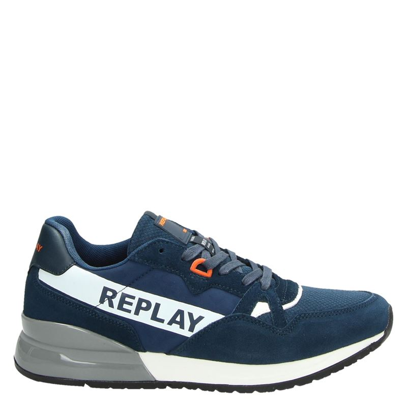Replay - Lage sneakers - Blauw