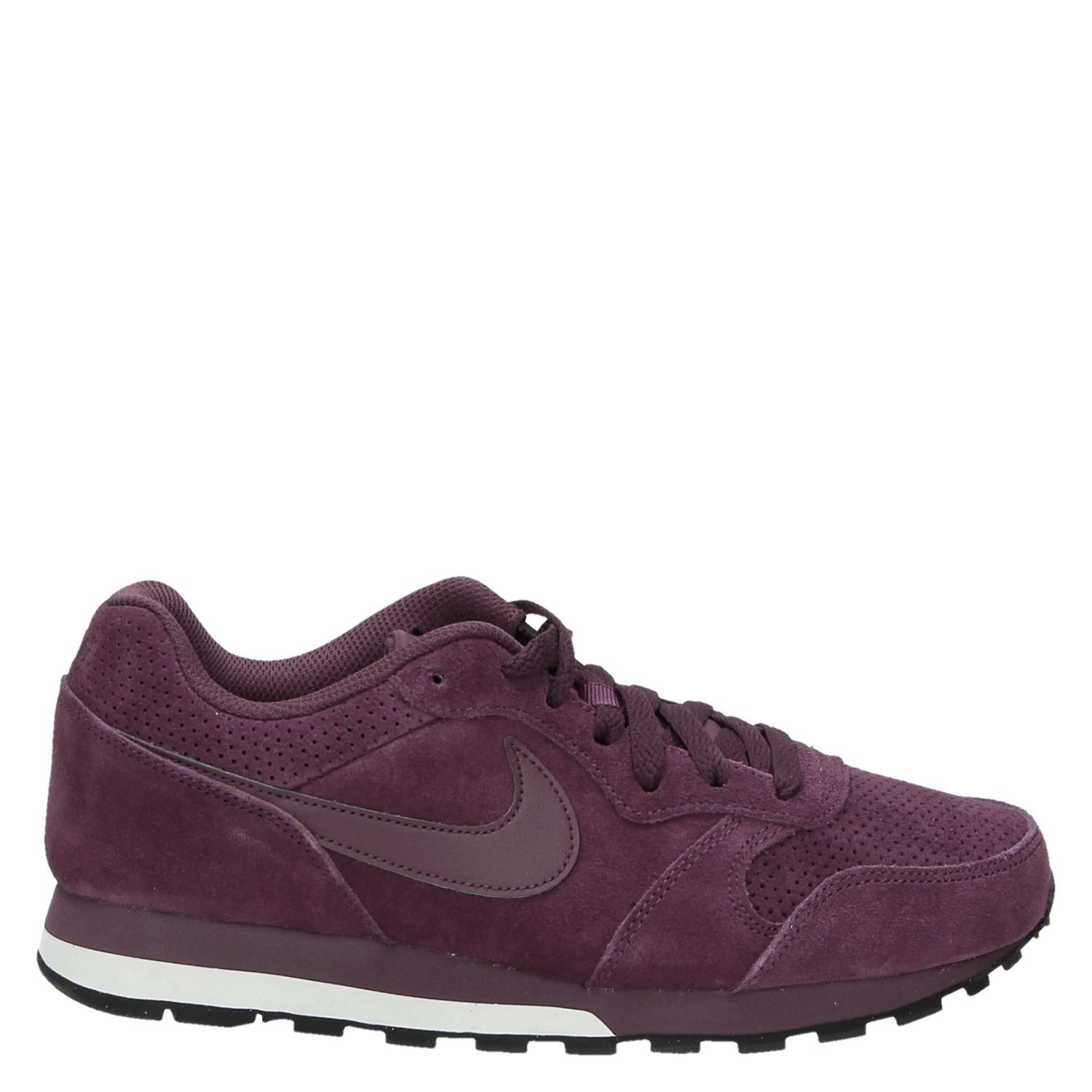 198a600af0e Nike MD Runner 2 Lea heren lage sneakers rood