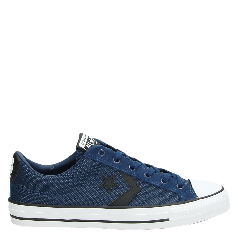 converse star player heren schoenen blauw