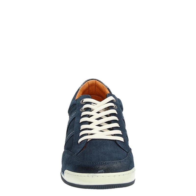 Van Lier - Lage sneakers - Blauw