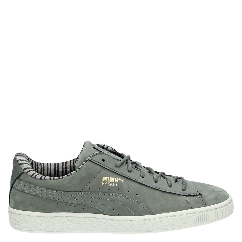 Panier Chaussures Classiques Gris Pumas DkWvhM3O