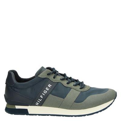 Tommy Hilfiger Sport heren sneakers groen