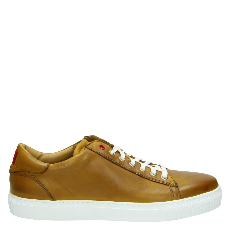 - Greve lage sneakers