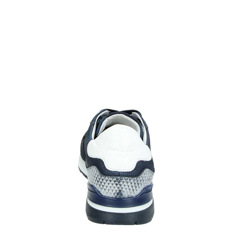 Van Lier - Lage sneakers - Blauw