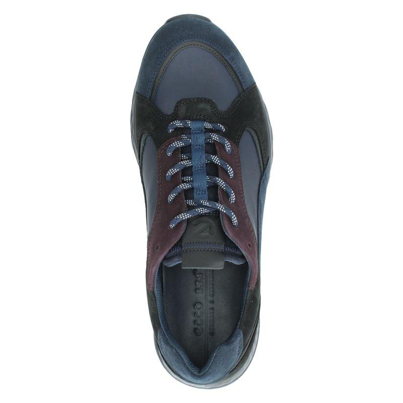Ecco ST1 - Lage sneakers - Blauw