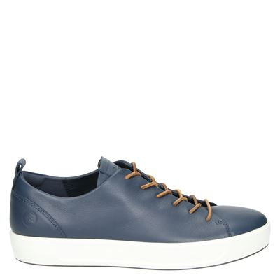 Ecco Soft 8 - Lage sneakers - Blauw