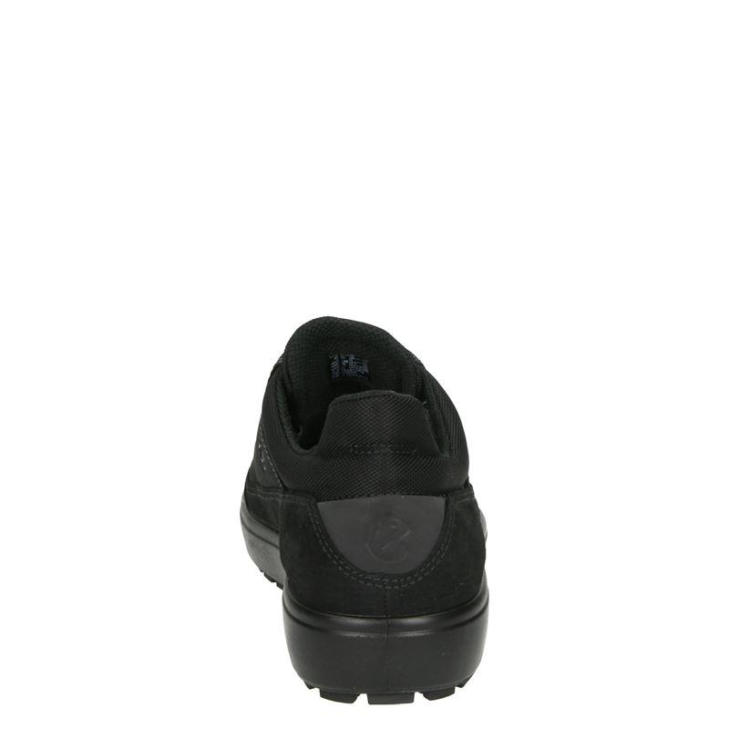 Ecco - Veterschoenen - Zwart