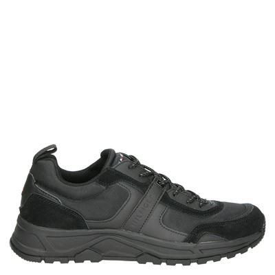 Tommy Hilfiger Sport heren sneakers zwart