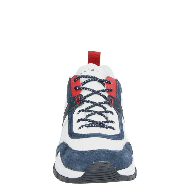 Tommy Hilfiger Sport Fashion Mix - Lage sneakers - Wit