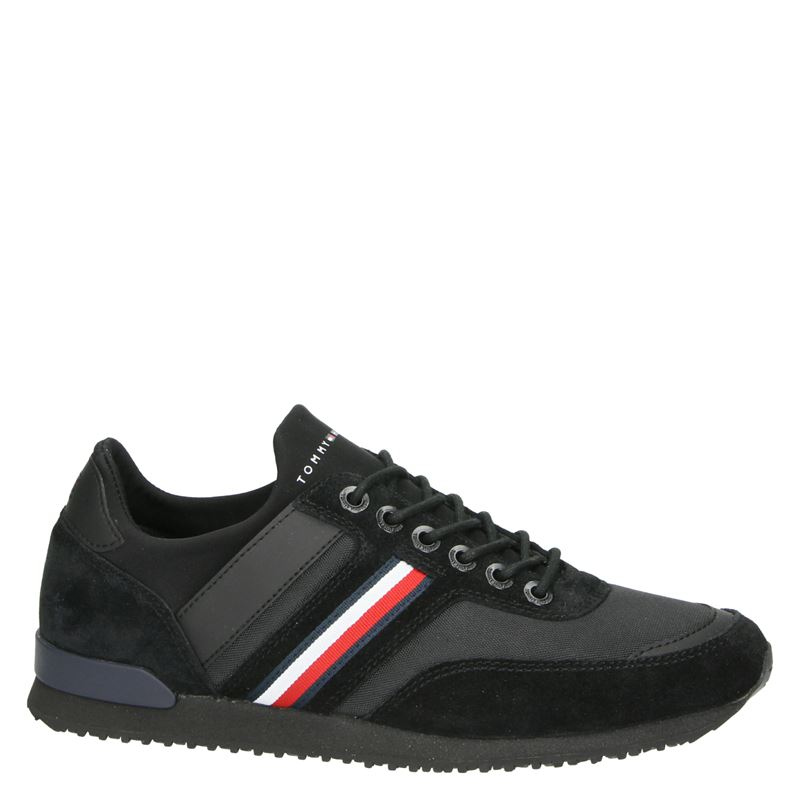 Tommy Hilfiger Sport Iconic Sock Runner - Lage sneakers - Zwart