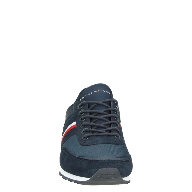 Tommy Hilfiger Sport Iconic Sock Runner - Lage sneakers - Blauw