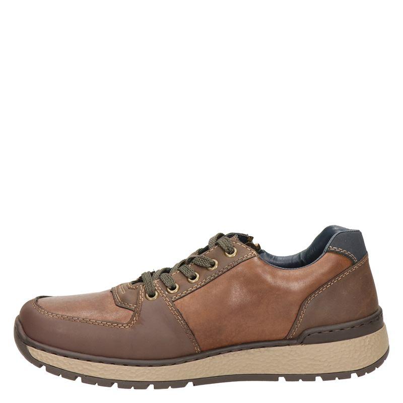 Rieker - Lage sneakers - Cognac