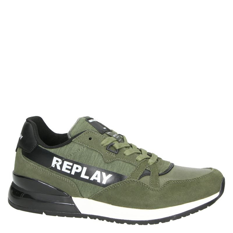 Replay Lavan - Lage sneakers - Kaki