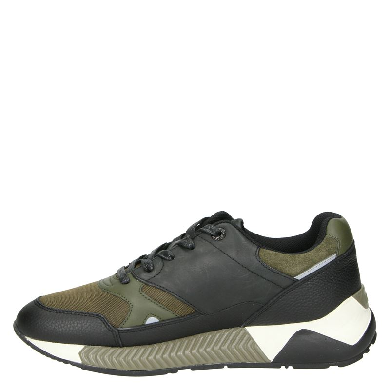 Replay Whitestream - Lage sneakers - Zwart
