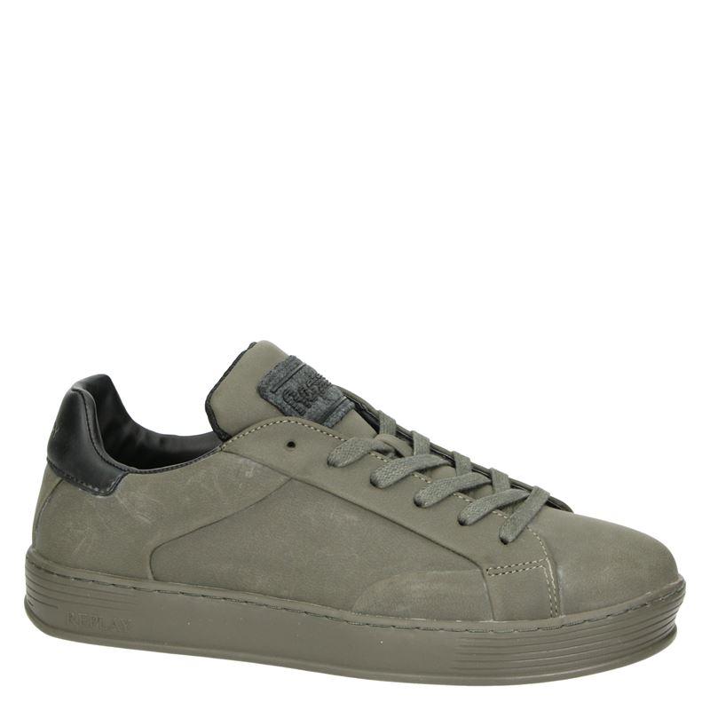 Replay Allens - Lage sneakers - Groen