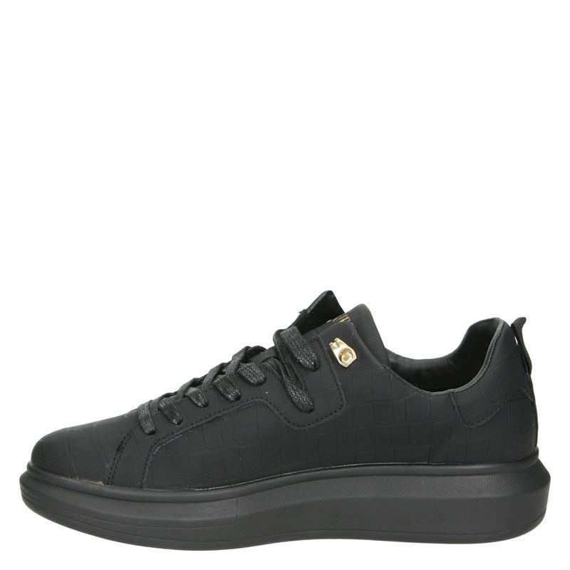 Guess Kurt - Lage sneakers - Zwart
