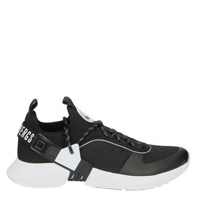 Bikkembergs heren lage sneakers zwart