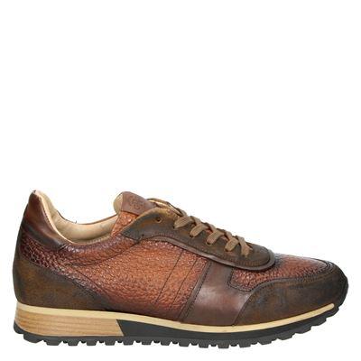 Giorgio heren sneakers cognac