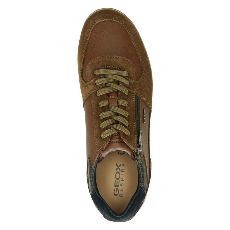 Geox Renan - Lage sneakers - Cognac