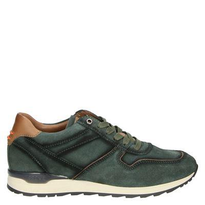 Greve heren lage sneakers groen