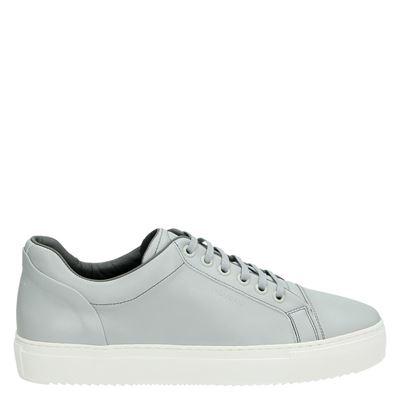 Mondain Amsterdam heren sneakers grijs