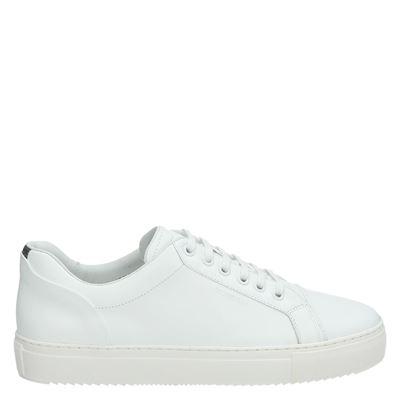 Mondain Amsterdam heren sneakers wit