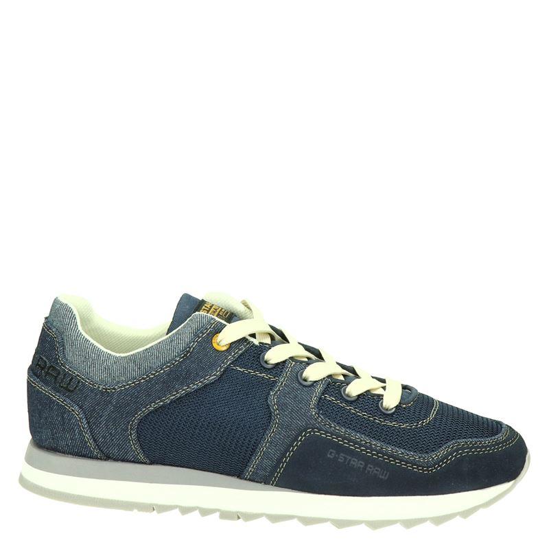 G-Star Raw Calow Denim - Lage sneakers - Blauw