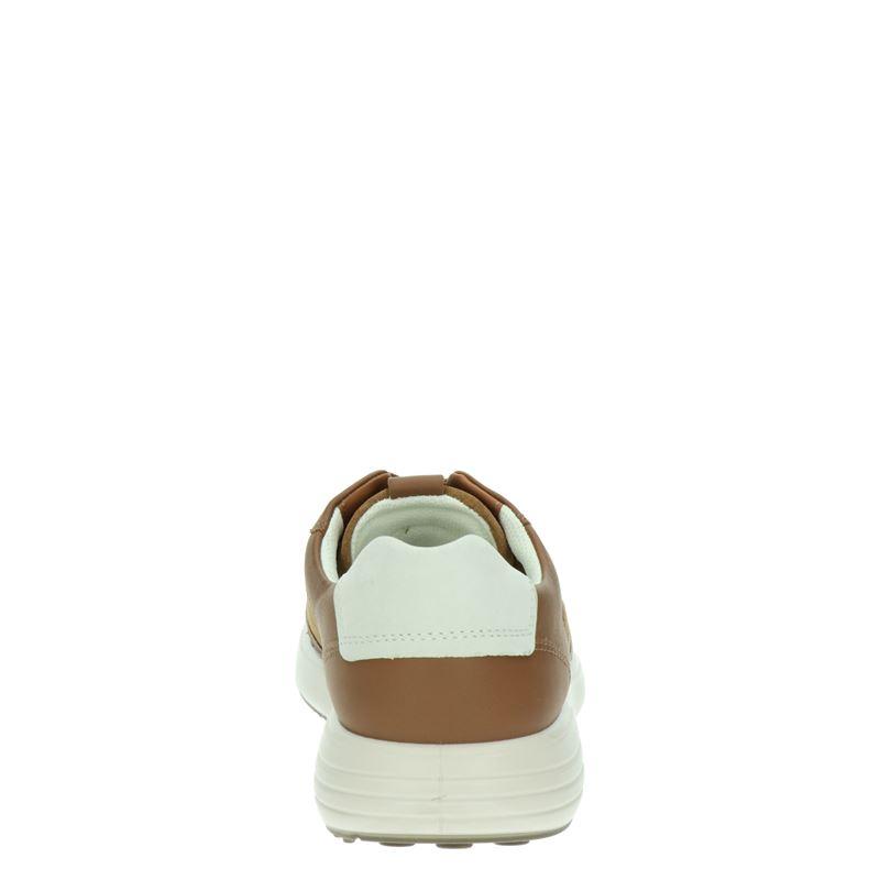 Ecco Soft 7 Runner - Lage sneakers - Bruin
