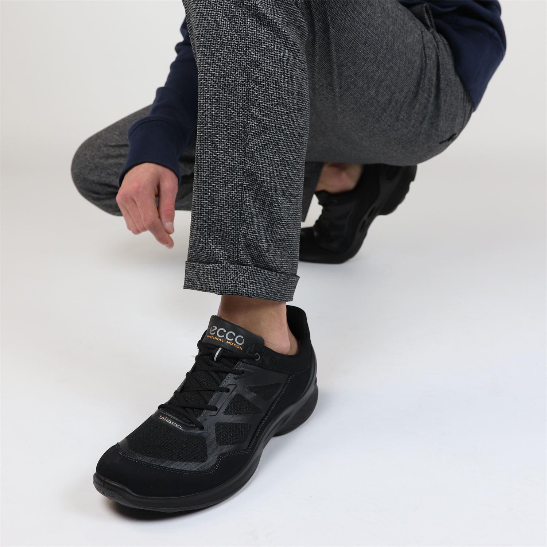 Ecco Biom Fjuel heren sneaker Zwart Maat 41