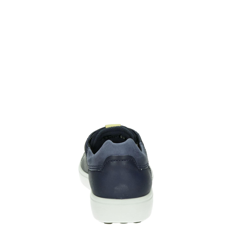 Ecco Soft 7 - Lage sneakers voor heren - Blauw IDVMzkF