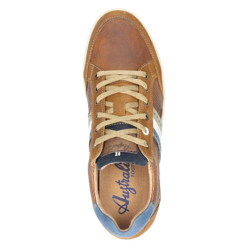 Australian Lombardo - Lage sneakers - Cognac
