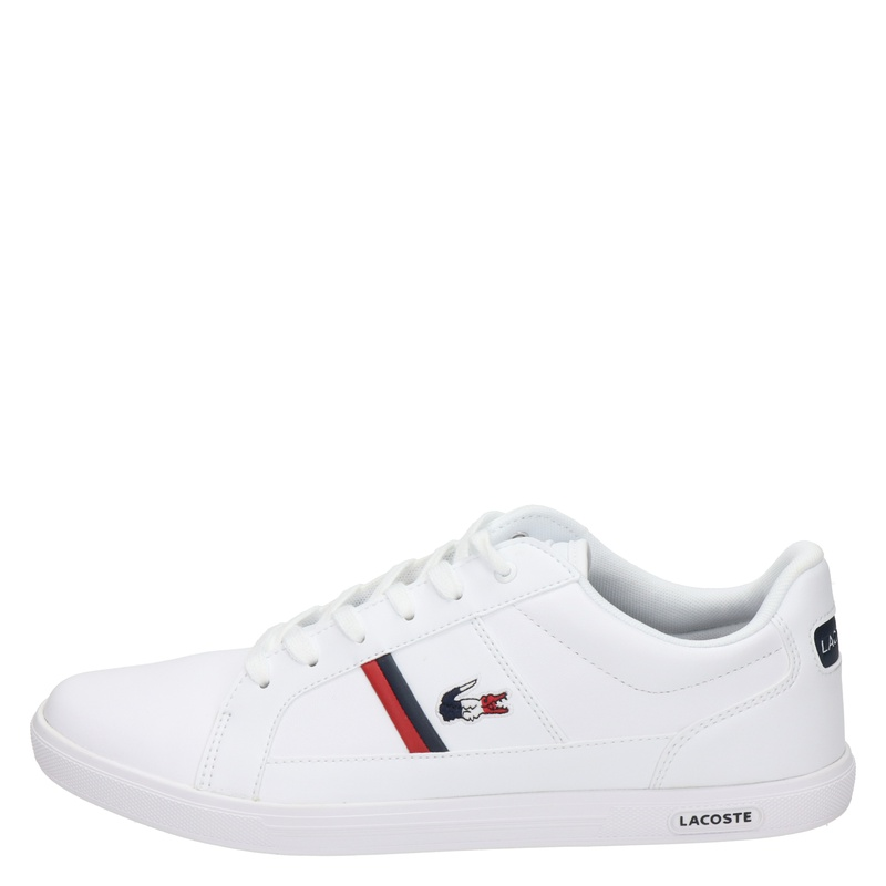 Lacoste Europa Tri 1 - Lage sneakers - Wit