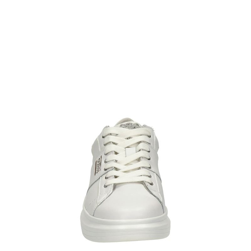 Guess Salerno - Lage sneakers - Wit