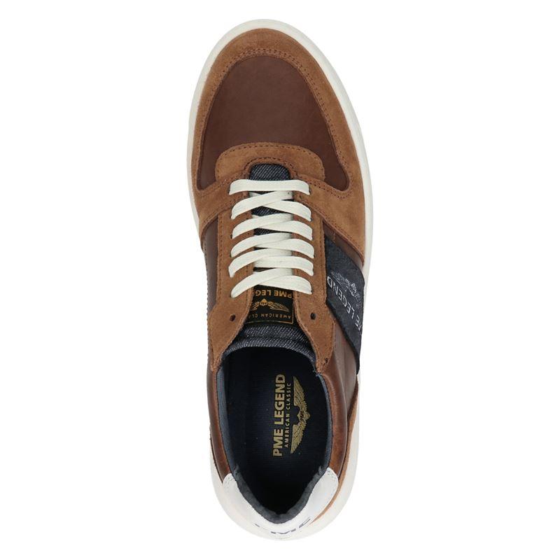 PME Legend Flettner - Lage sneakers - Cognac