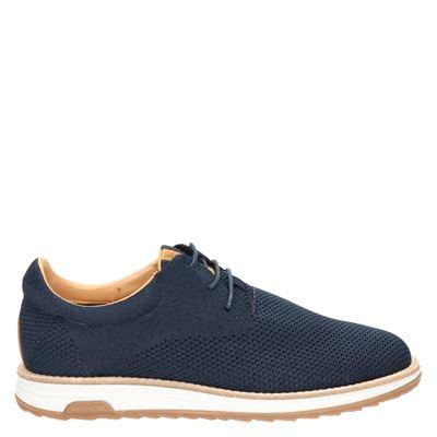 Rehab Nolan Knit - Lage sneakers - Blauw