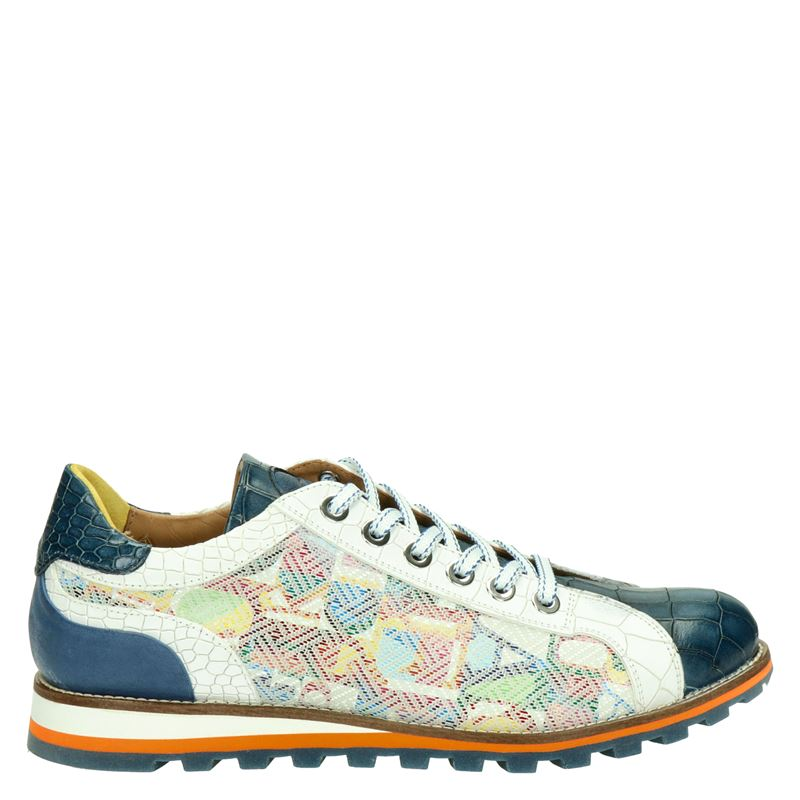 Lorenzi - Lage sneakers - Blauw