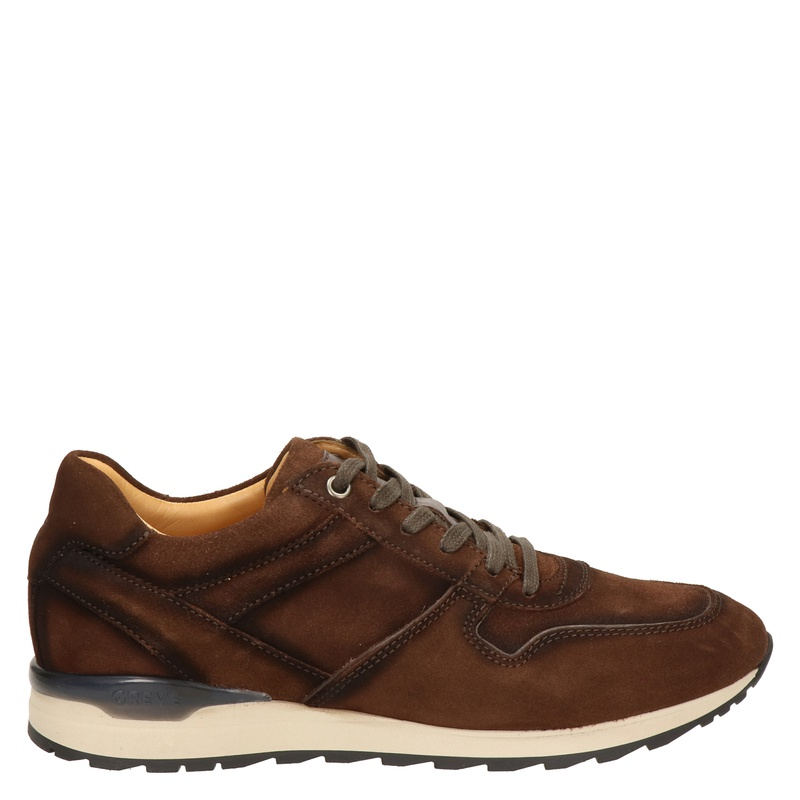 Greve Ryan - Lage sneakers - Bruin