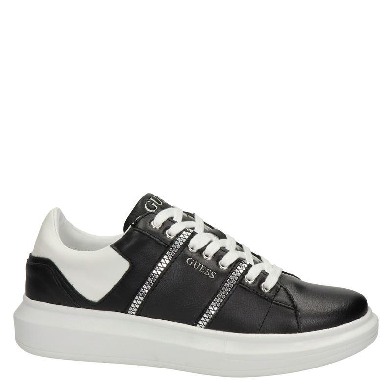 Guess Salerno II - Lage sneakers - Zwart
